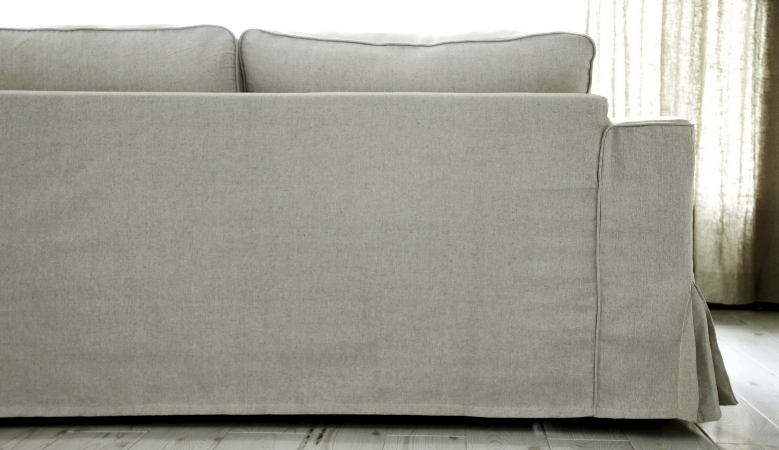 Most Up To Date Loose Fit Linen Manstad Sofa Slipcovers Now Available Pertaining To Manstad Sofas (View 12 of 15)
