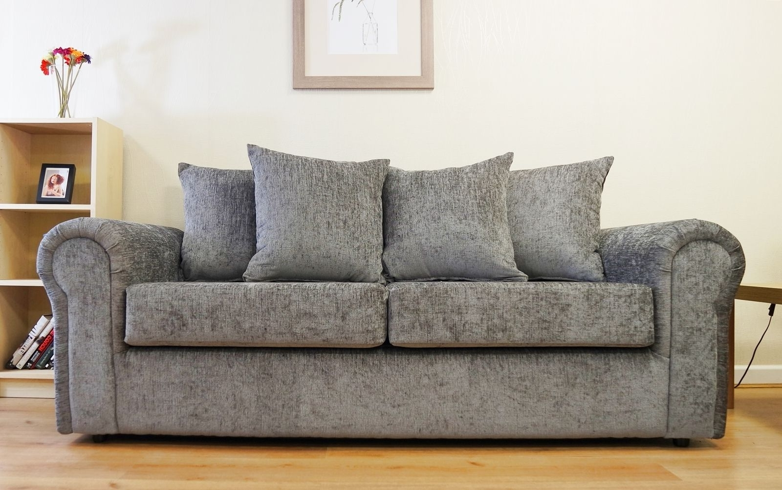 Most Up To Date Lovely Chenille Fabric Sofa 84 Sofas And Couches Ideas With With Regard To Fabric Sofas (View 15 of 15)