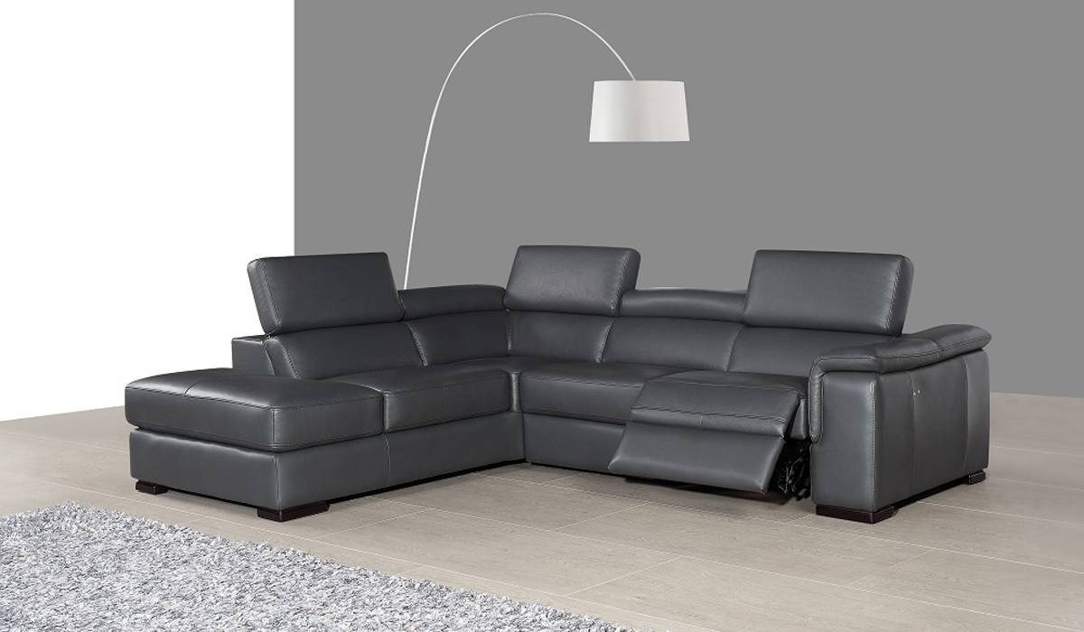Most Up To Date Modern Reclining Leather Sofas Within Genuine Leather Sectional Costco Leather Recliner Sectional Sofas (View 11 of 15)
