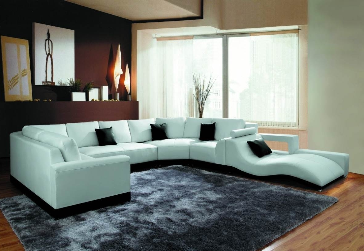 Most Up To Date Modern U Shaped Sectional Sofas In Modern U Shaped Sectional Sofa – Naindien (View 11 of 15)