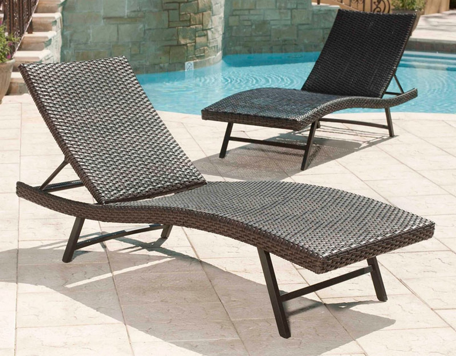 Most Up To Date Pvc Outdoor Chaise Lounge Chairs Intended For Lounge Chair : Poolside Chaise Lounge Chairs Sale Outdoor Lounger (View 6 of 15)