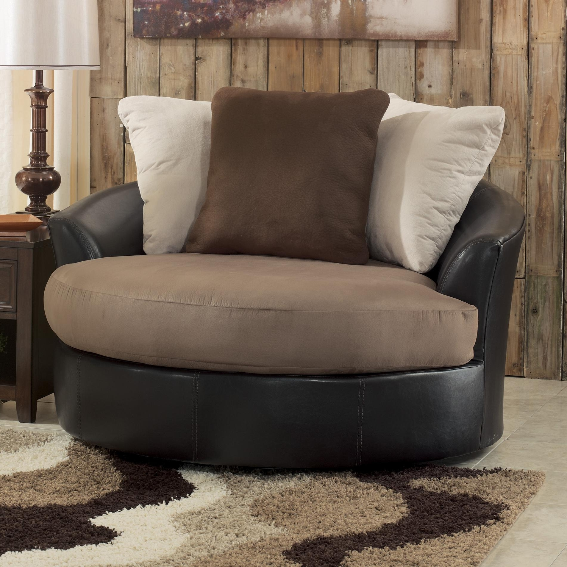 Most Up To Date Sofa : Excellent Round Sofa Chair Living Room Furniture Harveys Regarding Large Sofa Chairs (View 11 of 15)