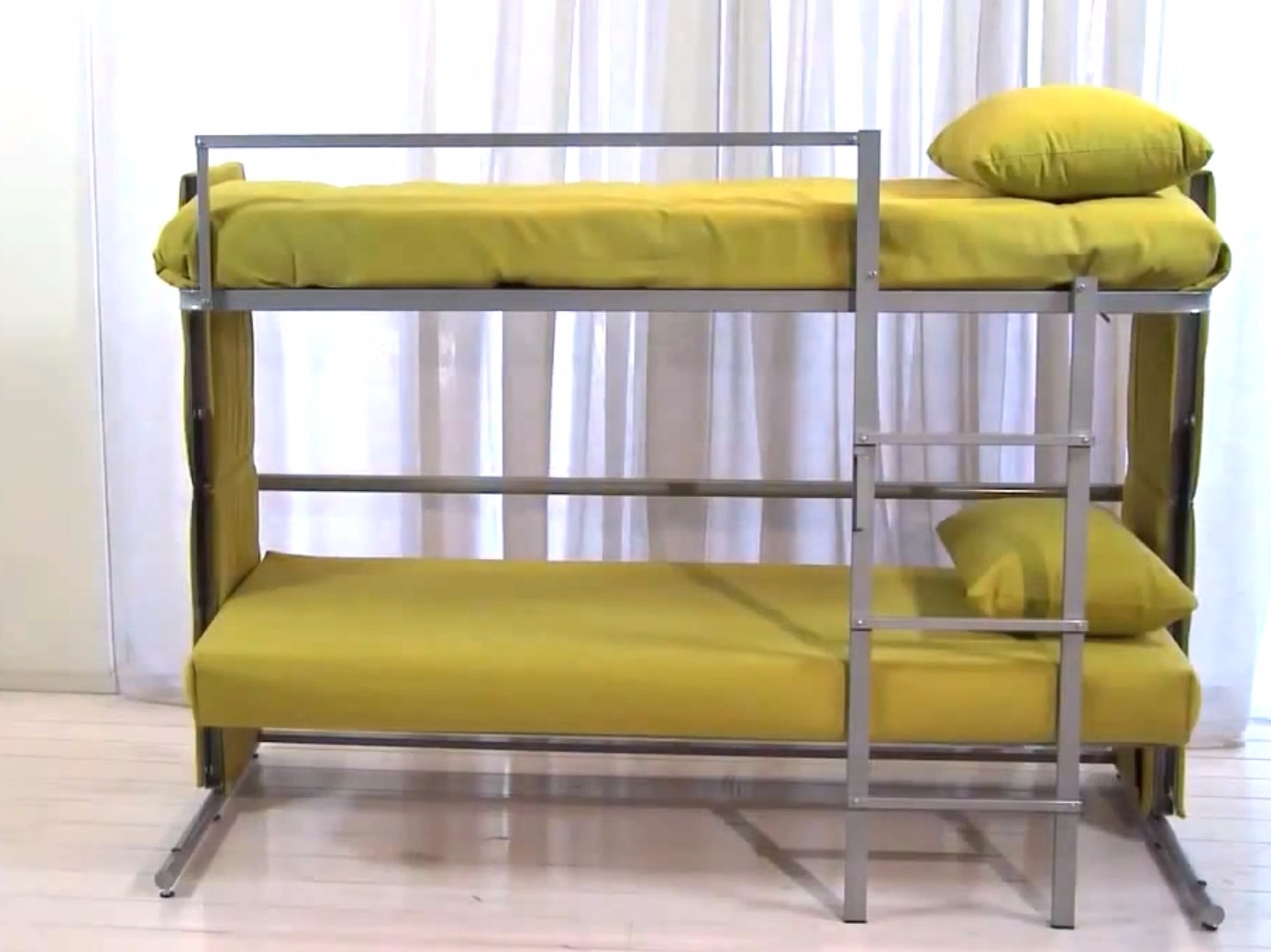 Most Up To Date Sofa Folds Out Into A Bunk Bed – Business Insider In Sofa Bunk Beds (View 9 of 15)