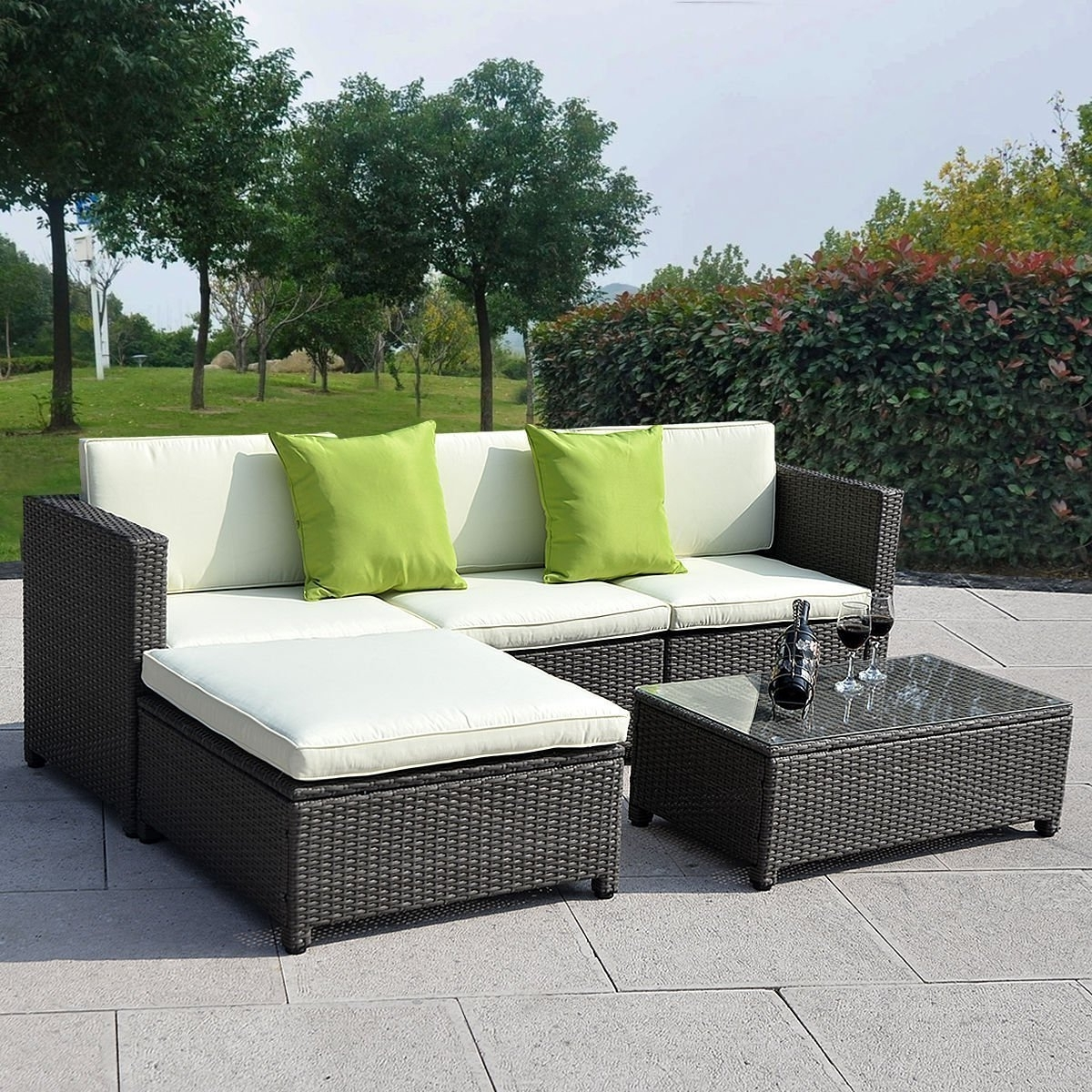 Most Up To Date Sofa : Outdoor Wicker Furniture Perth Wa Patio Furniture Sofa Regarding Kitchener Sectional Sofas (View 7 of 15)