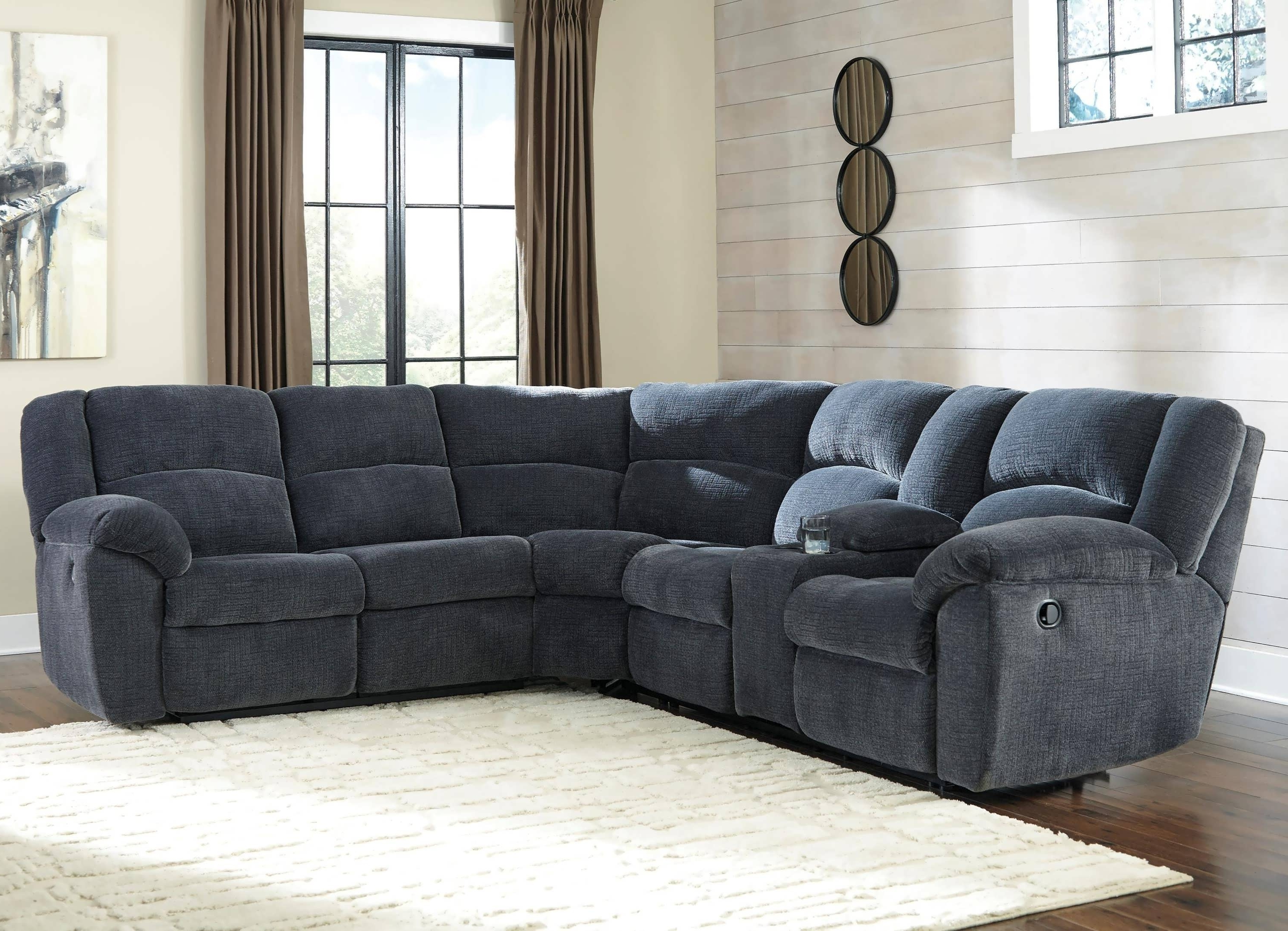 Most Up To Date Sofa : Pit Sectional Sectional Sofas With Recliners Grey Leather Within Chaise Recliners (View 6 of 15)