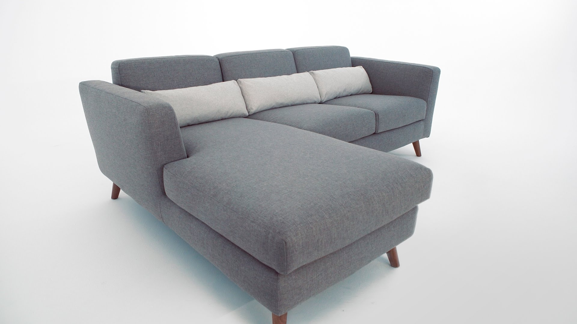 Most Up To Date Structube Sectional Sofas Pertaining To The Taylor Sectional Sofa – Structube – Youtube (View 8 of 15)
