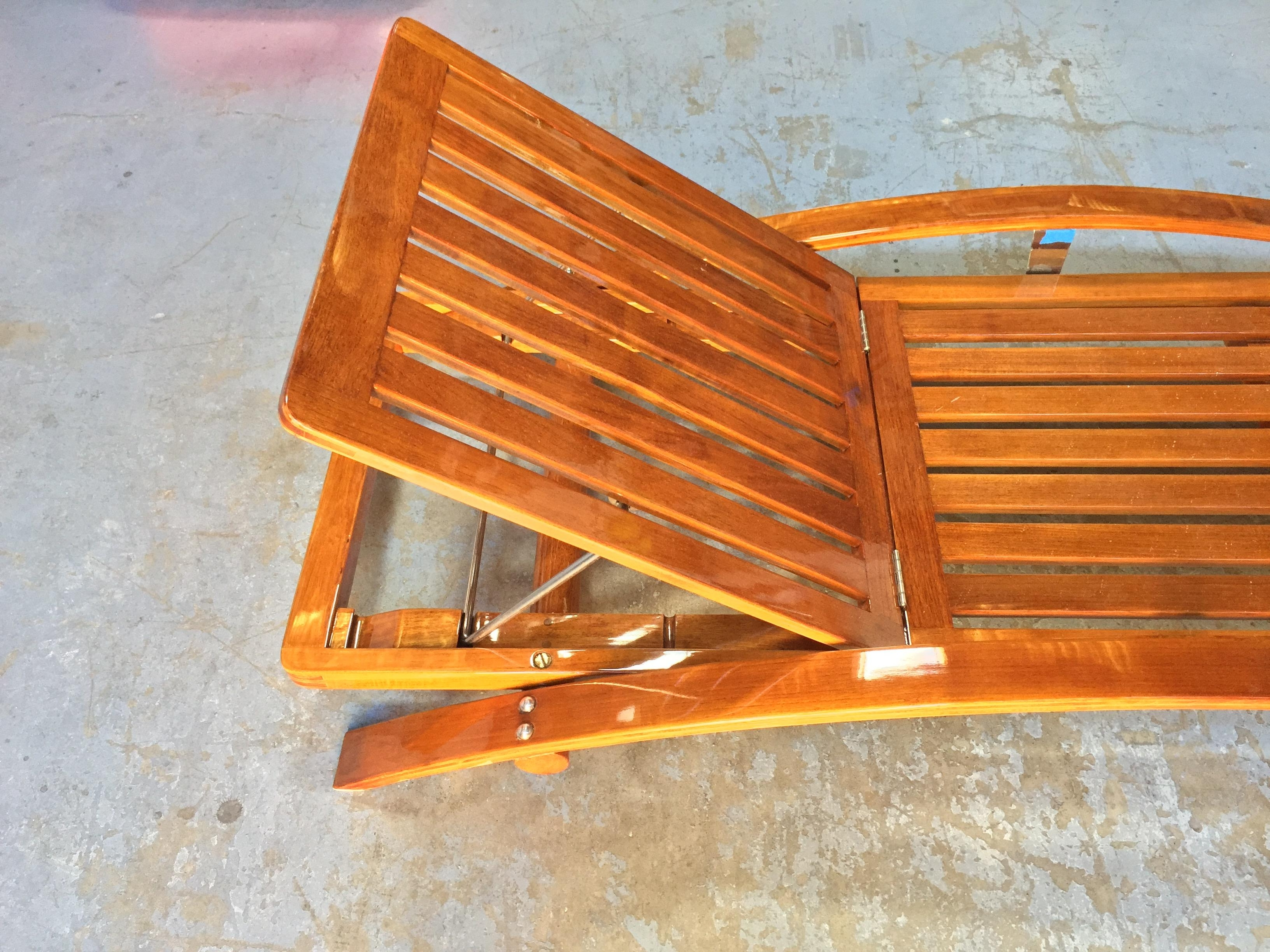 Most Up To Date Summit Teak Chaises Lounges – Cbay In Teak Chaises (View 5 of 15)