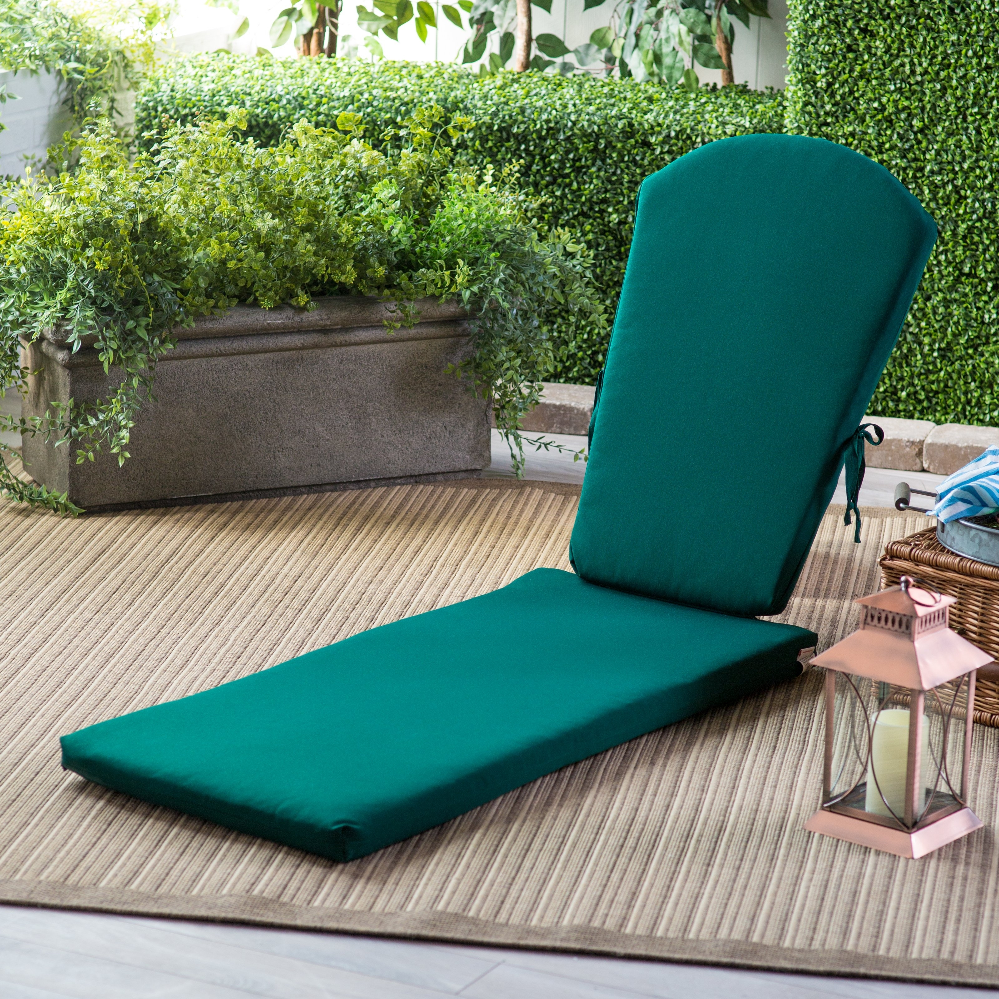 Most Up To Date Sunbrella Chaise Cushions Intended For Polywood® Sunbrella 77 X 21.25 In (View 3 of 15)