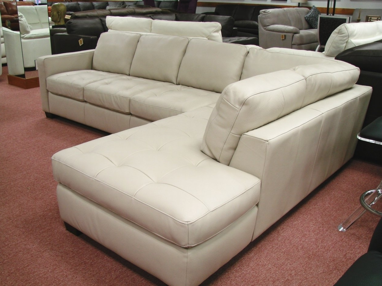 Most Up To Date Used Sectional Sofas Inside Used White Leather Sectional Sofa (View 4 of 15)