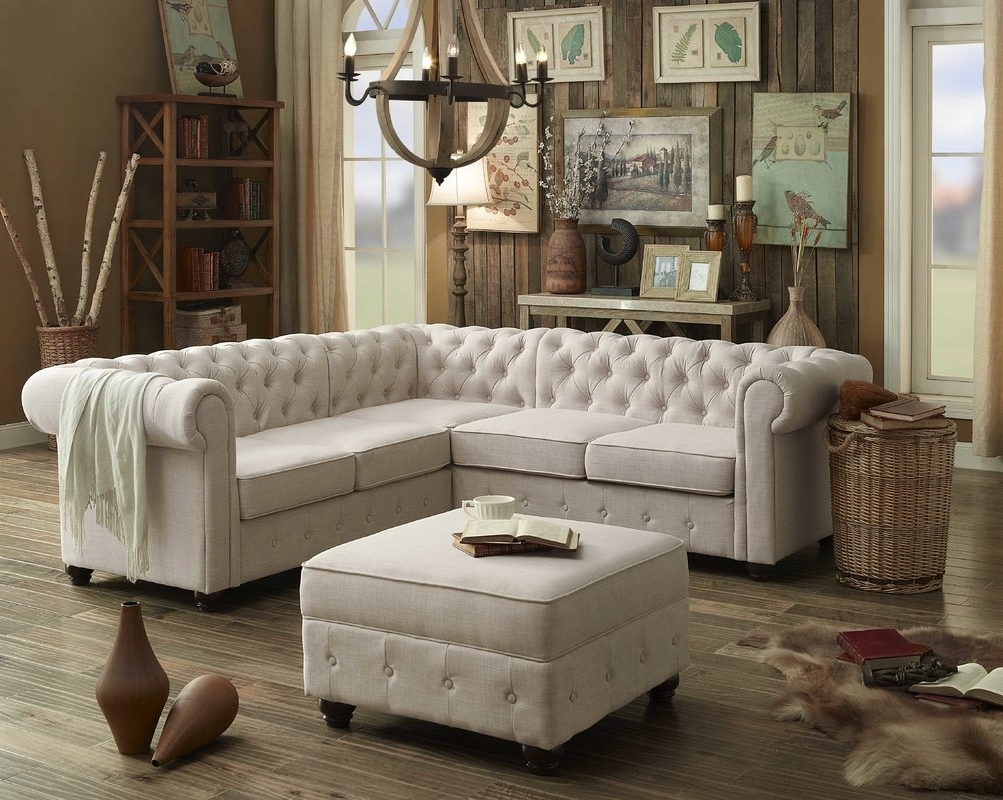 Mulhouse Furniture Garcia Sectional Collection & Reviews (View 12 of 15)
