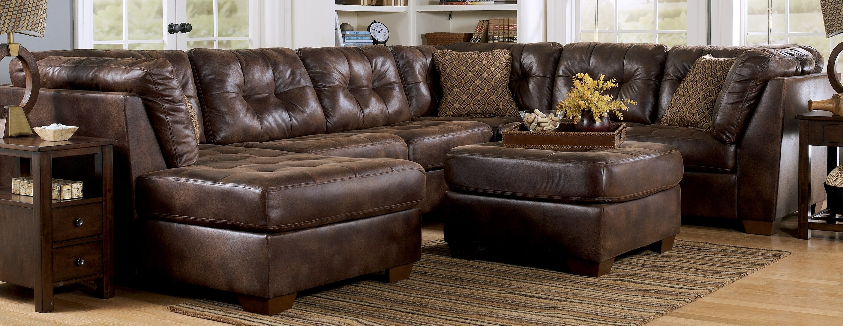 My Parents Have This Couch, And Now We're Saving For It! Its Sooo Intended For Well Liked Leather Sectionals With Chaise And Ottoman (View 9 of 15)