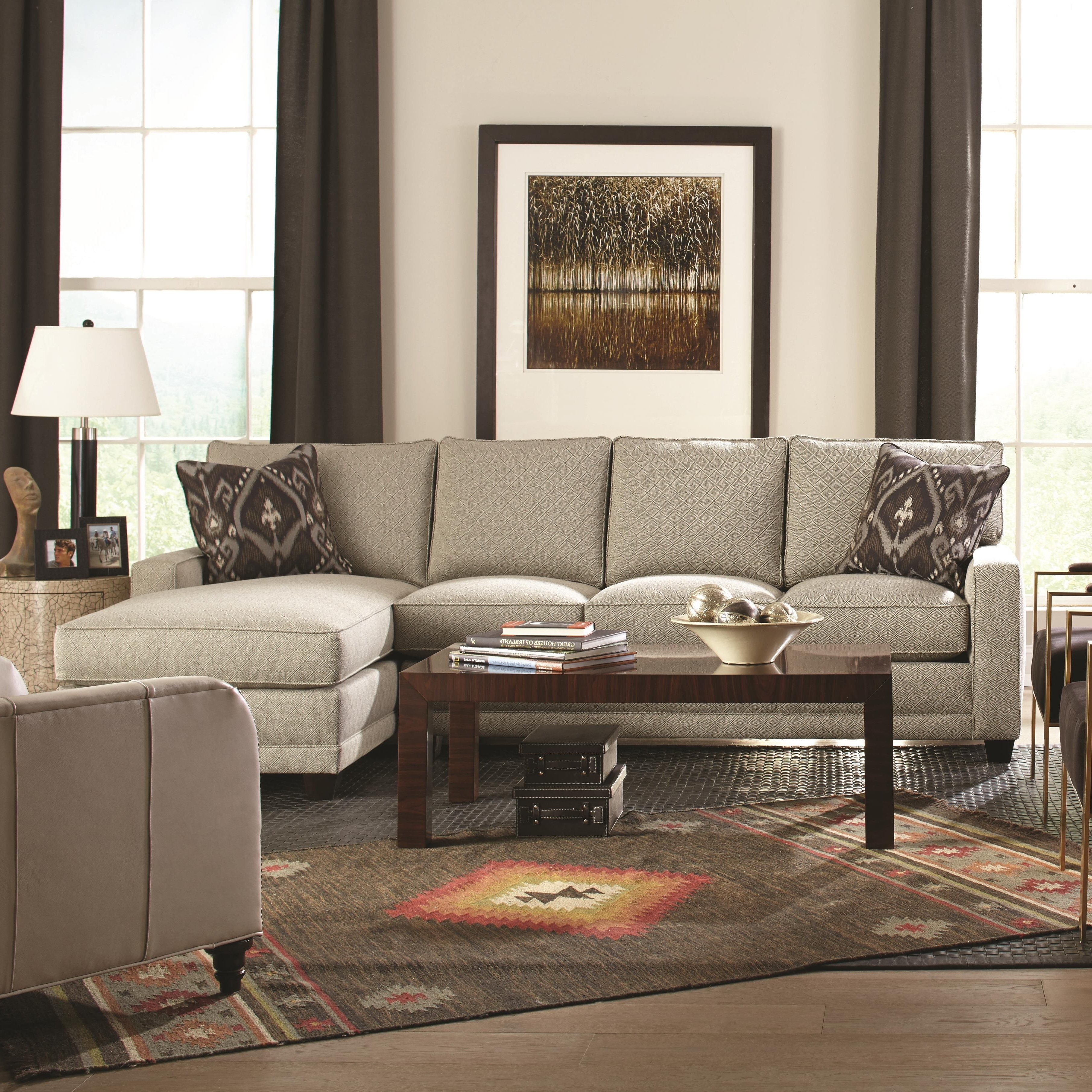 My Style Contemporary Sectional Sofa With Chaiserowe (View 15 of 15)