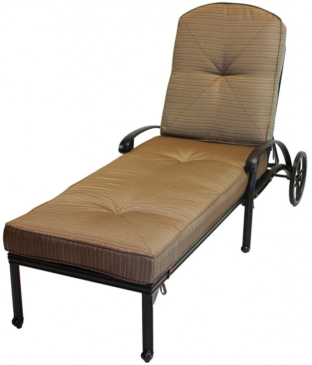 Featured Photo of Cast Aluminum Chaise Lounges