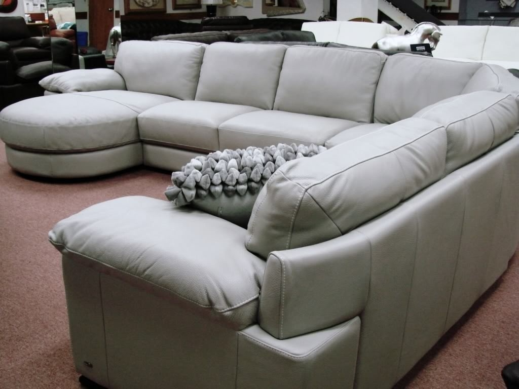 Natuzzi Sectional Sofas Inside Most Recent Furniture: B814 Modular Leather Sectional Natuzzi Editions Puritan (View 10 of 15)