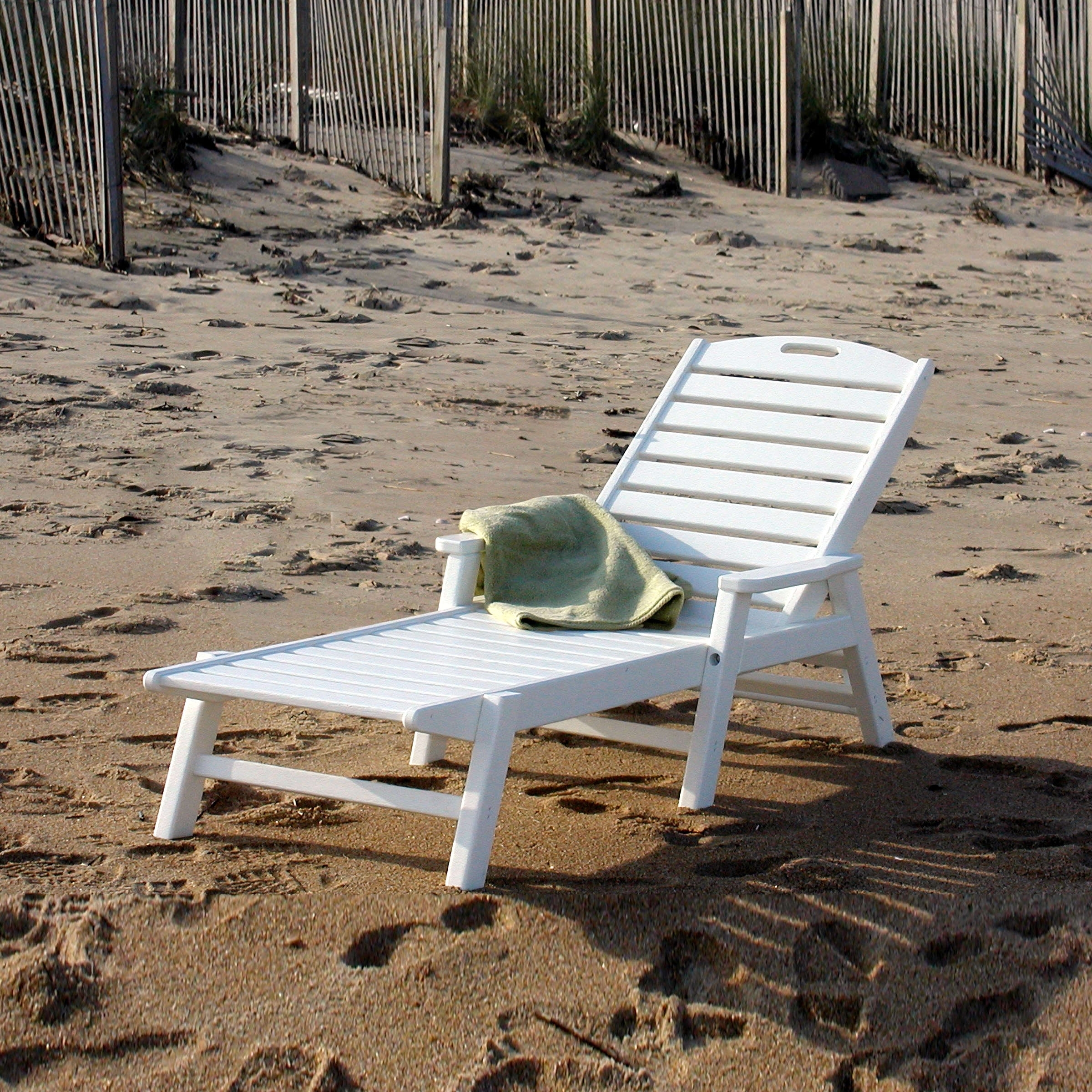 Nautical Chaise Lounge (View 7 of 15)