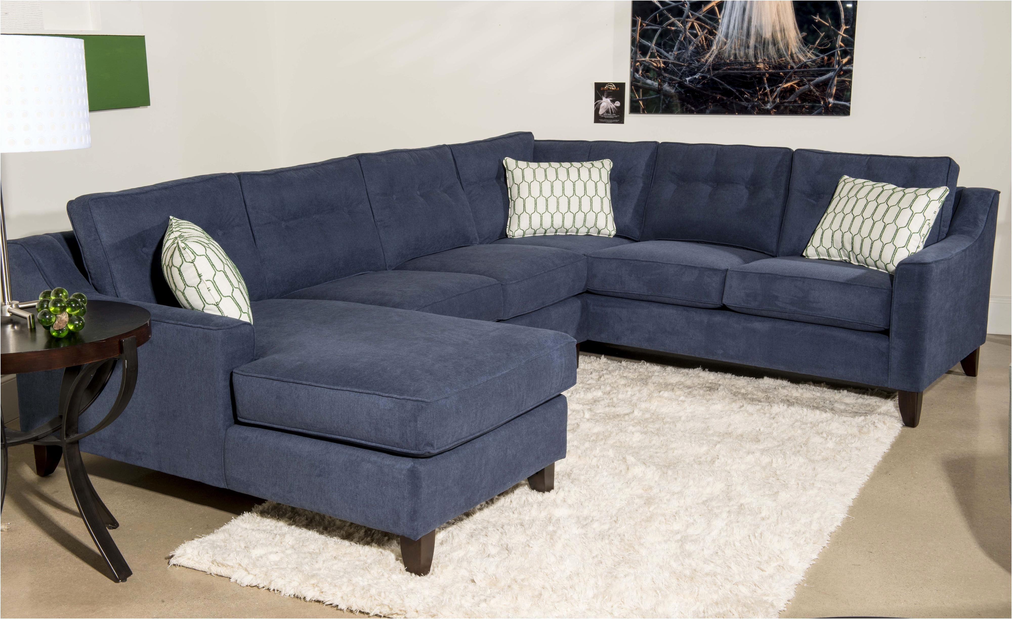 Navy Blue Sectional Sofa – Visionexchange (View 9 of 15)