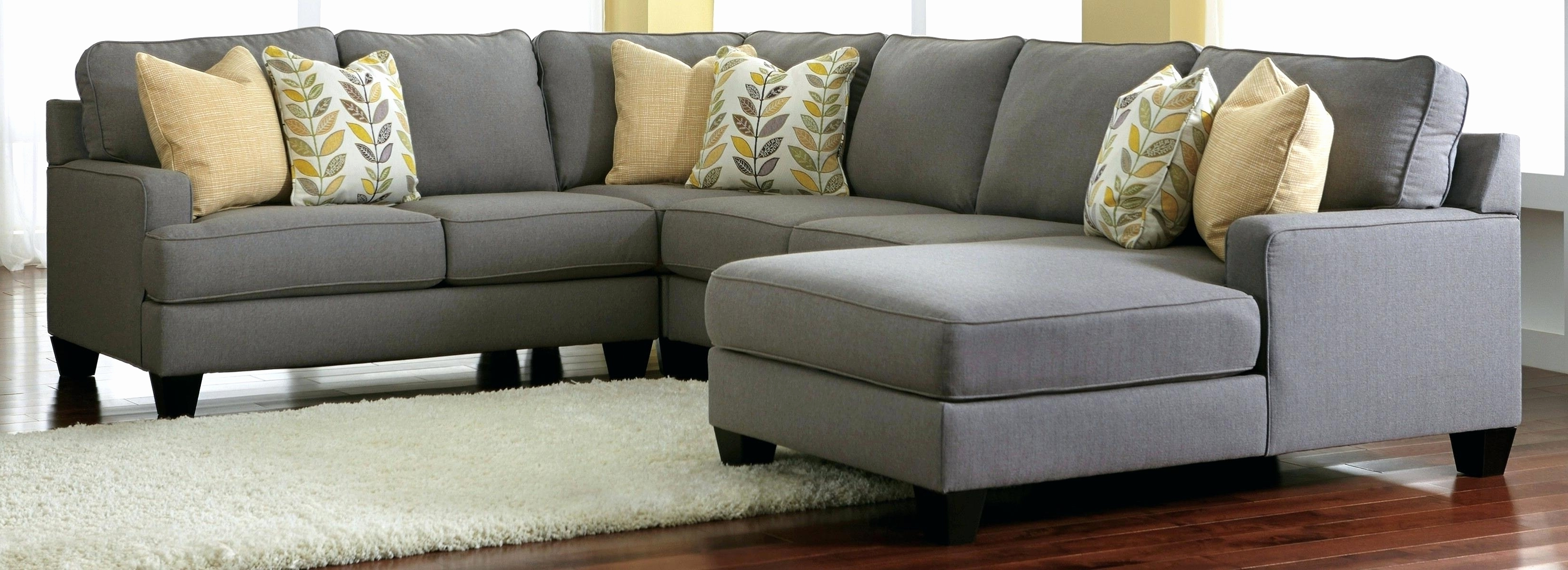 New Charcoal Grey Sectional Sofa With Chaise 2018 – Couches And In Current Gray Sectional Sofas With Chaise (View 12 of 15)