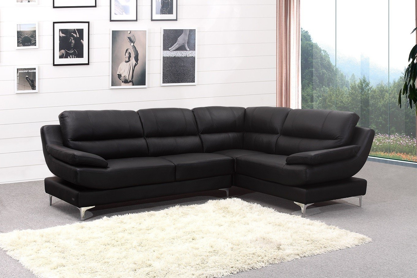 New Ideas Leather Corner Sofas With Corner Sofa Leather Brown With 2017 Leather Corner Sofas (View 9 of 15)