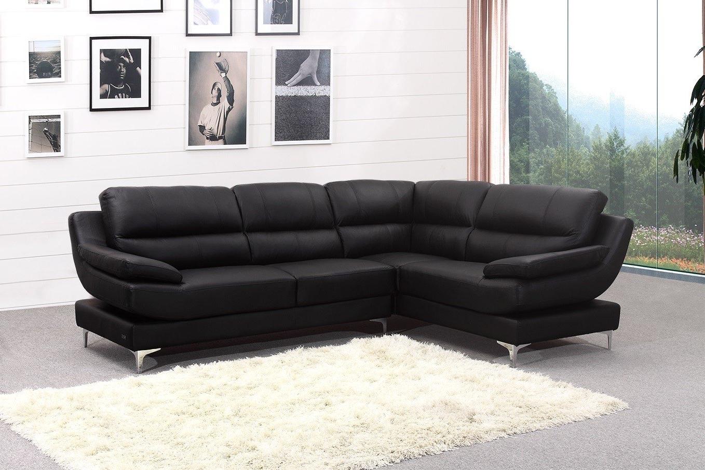 New Ideas Leather Corner Sofas With Corner Sofa Leather Brown With 2017 Leather Corner Sofas (View 10 of 15)