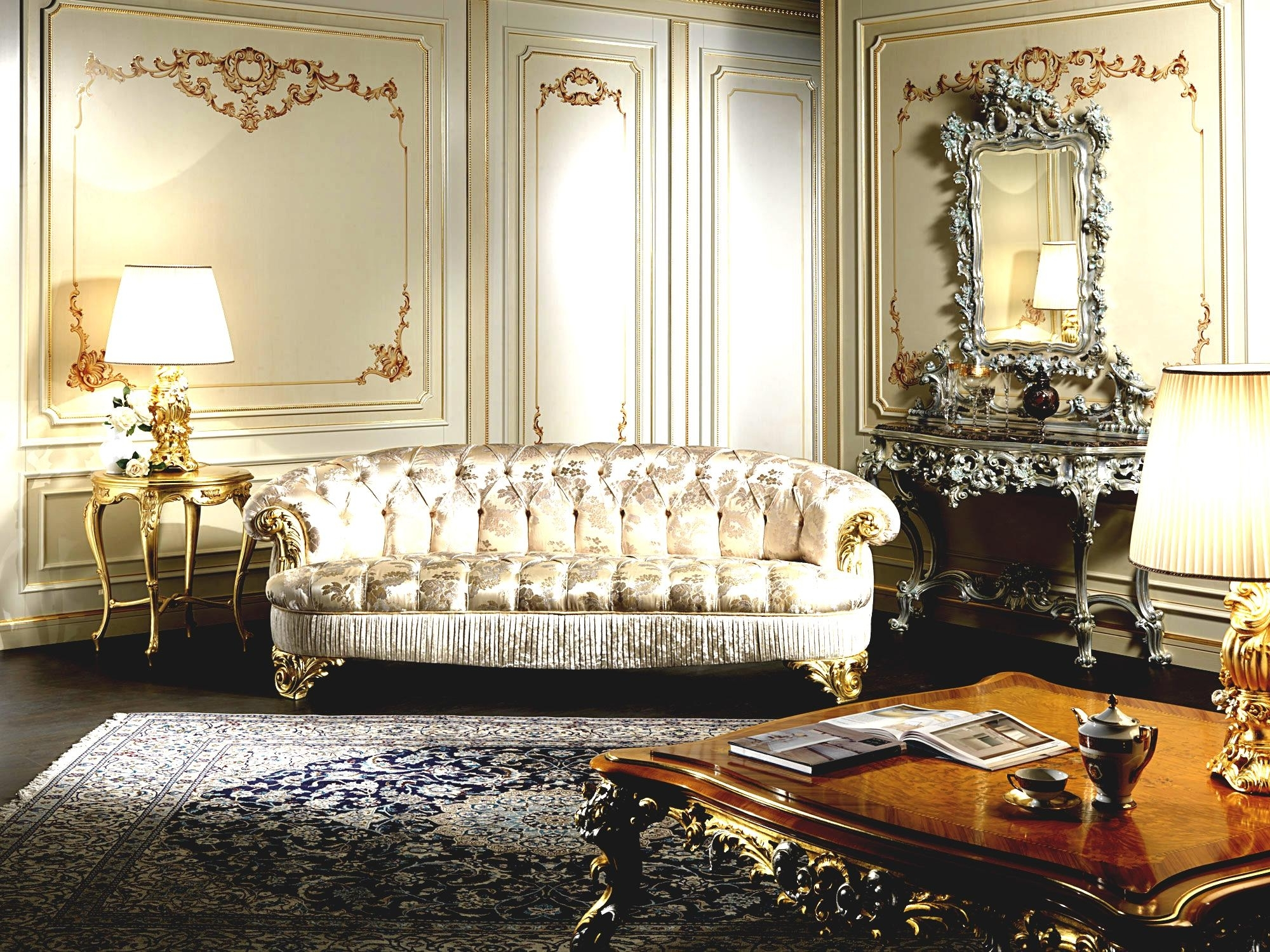 New Living Room And Open Space Ideas Luxury Classic ~ Best Home Pertaining To Well Known Classic Sofas (View 11 of 15)