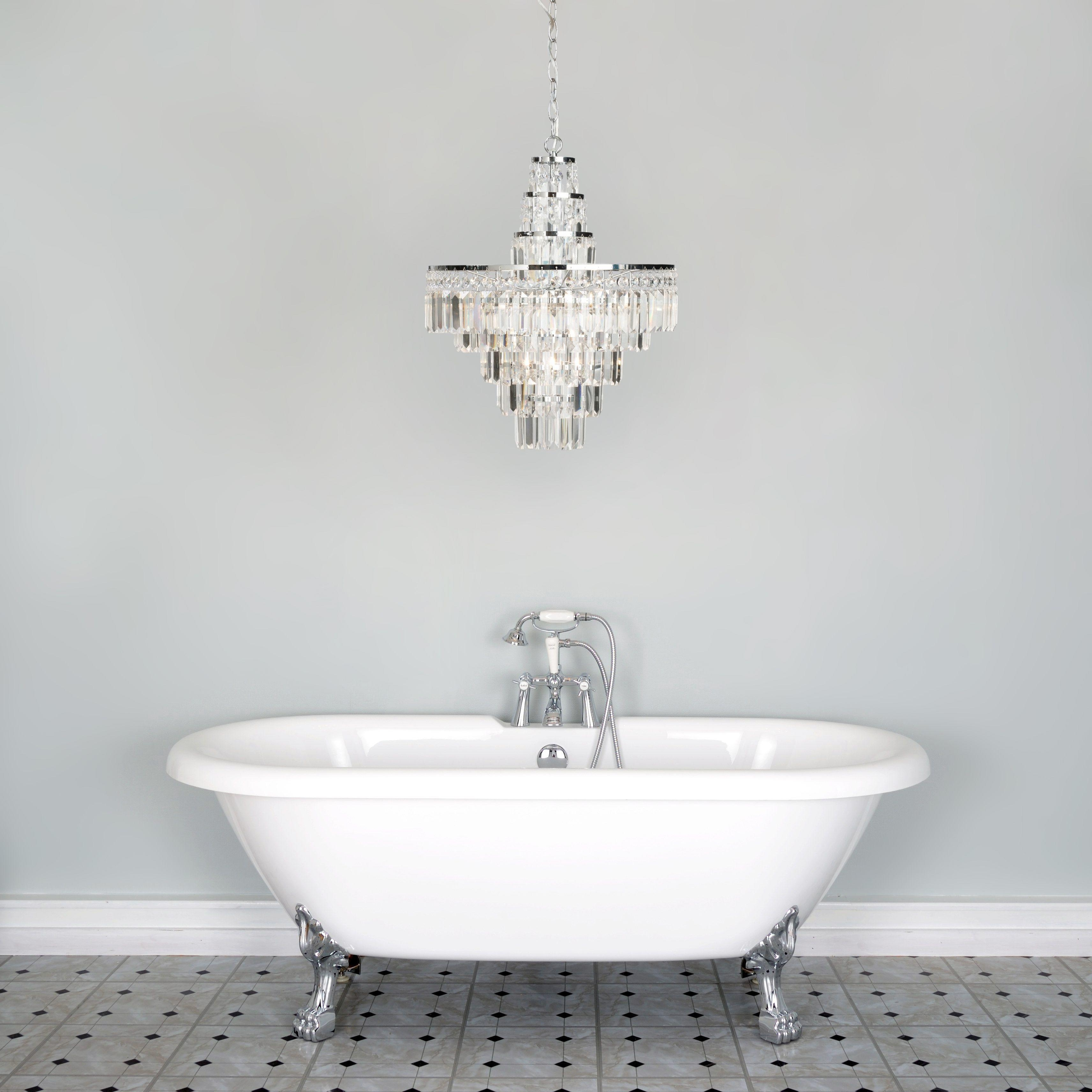 Featured Photo of Bathroom Lighting Chandeliers