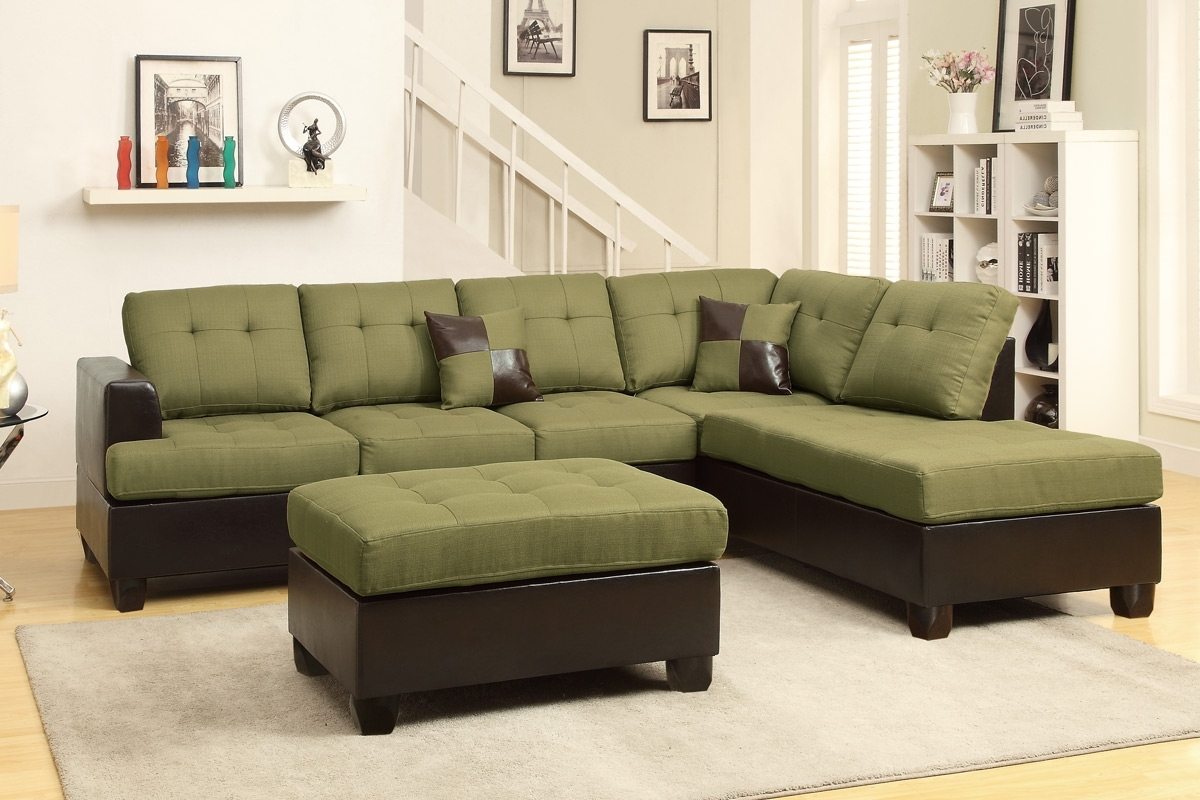 Featured Photo of Green Sectional Sofas With Chaise