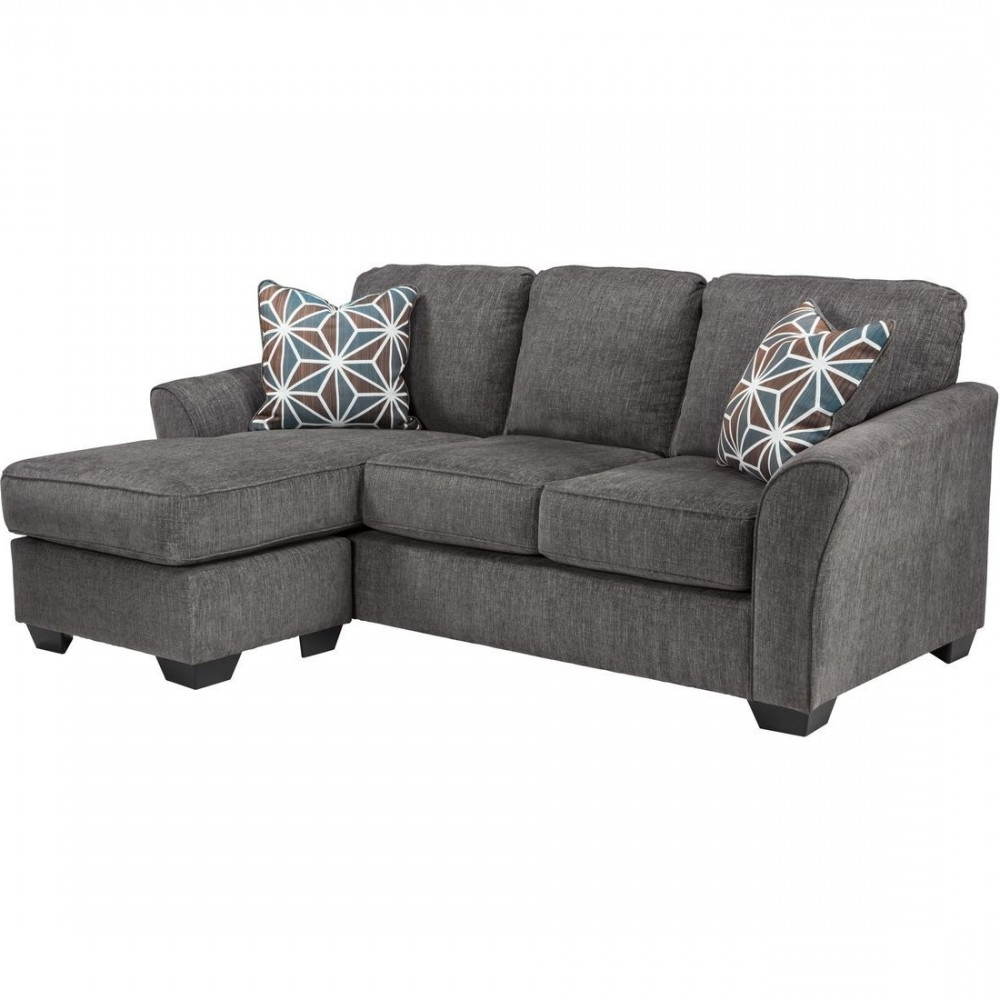 Newest Ashley Furniture Brise Sofa Chaise In Slate (View 9 of 15)