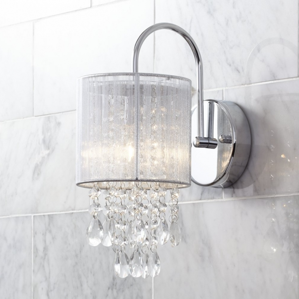 Newest Bathroom Chandelier Wall Lights Regarding Chandelier ~ Crystal Bathroom Wall Lights Lighting Bronze And Makeup (View 12 of 15)