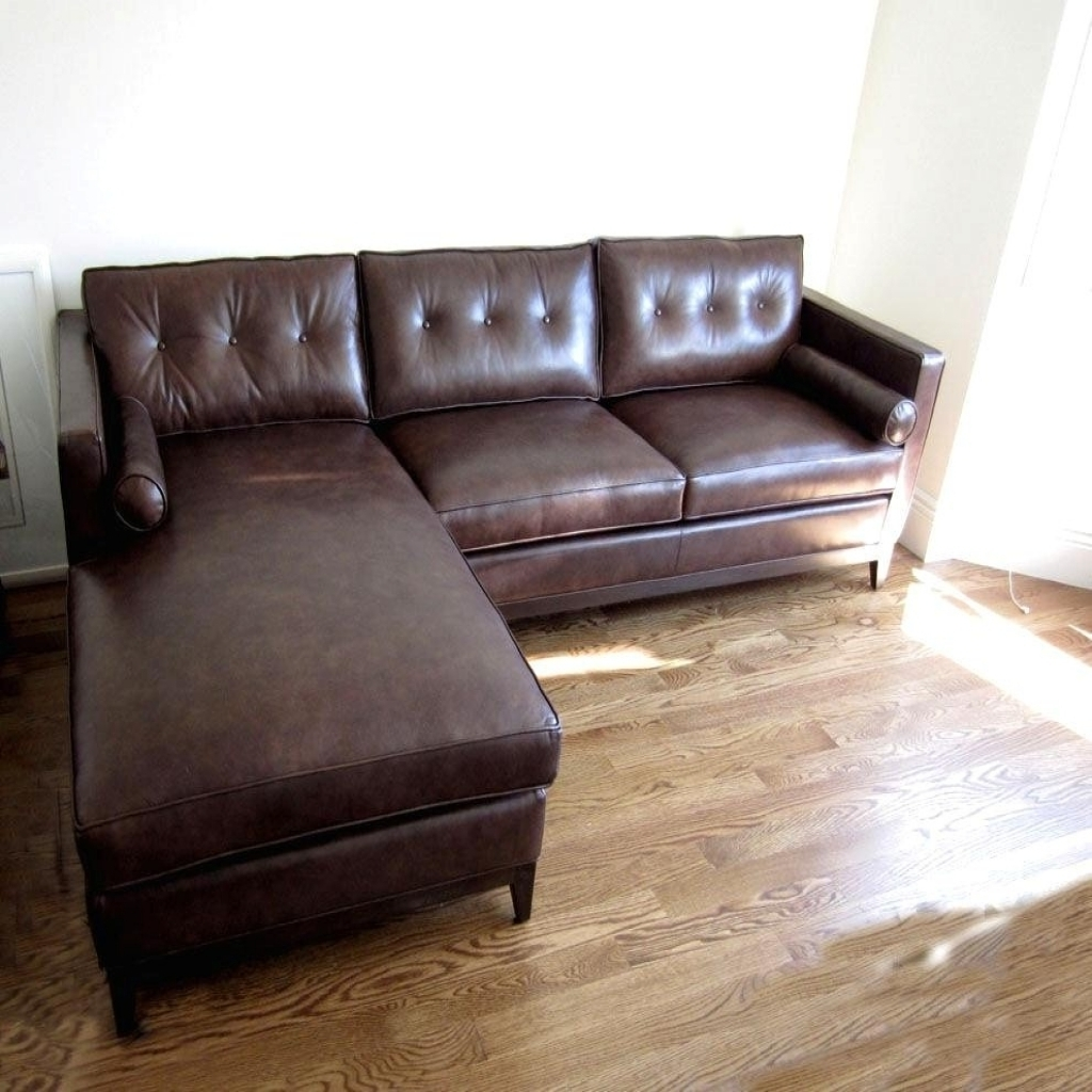 Newest Brown Leather Chaises With Leather Chaise Lounge Sofa – Visionexchange (View 8 of 15)