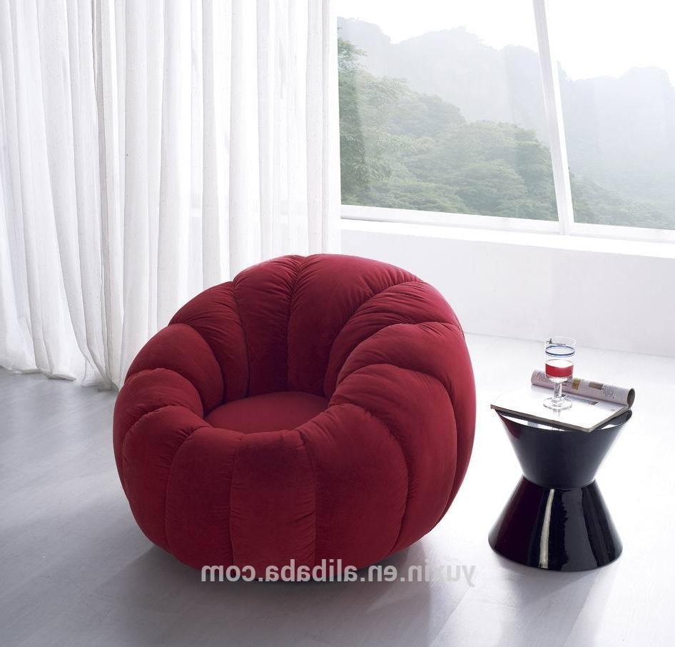 Newest Chair : White Sofa Chair Circle Shaped Couch Large Circular Couch Pertaining To Circular Sofa Chairs (View 10 of 15)