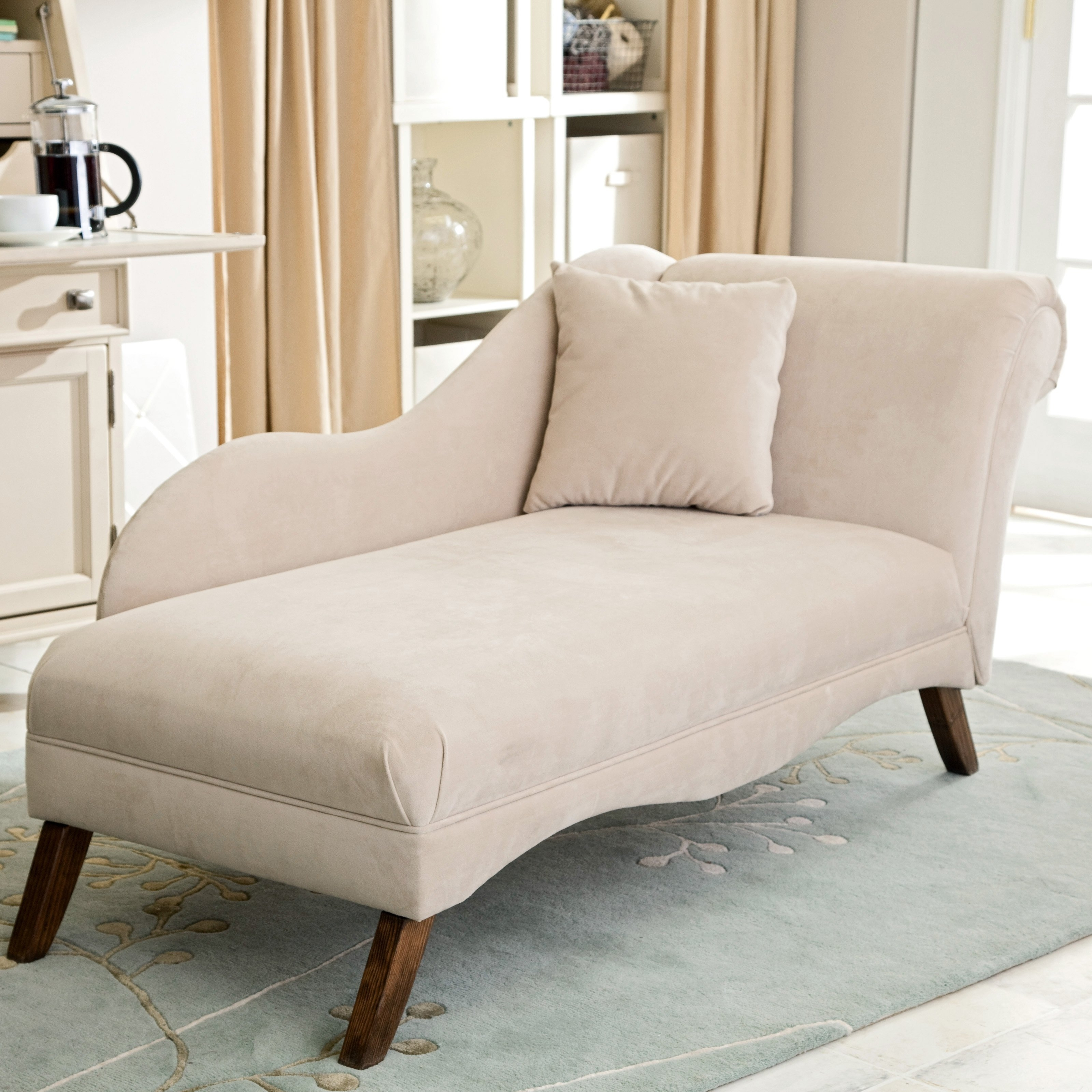 Newest Chaise Lounge Chair – Symbol Of Style And Practicality With Beige Chaise Lounges (View 3 of 15)