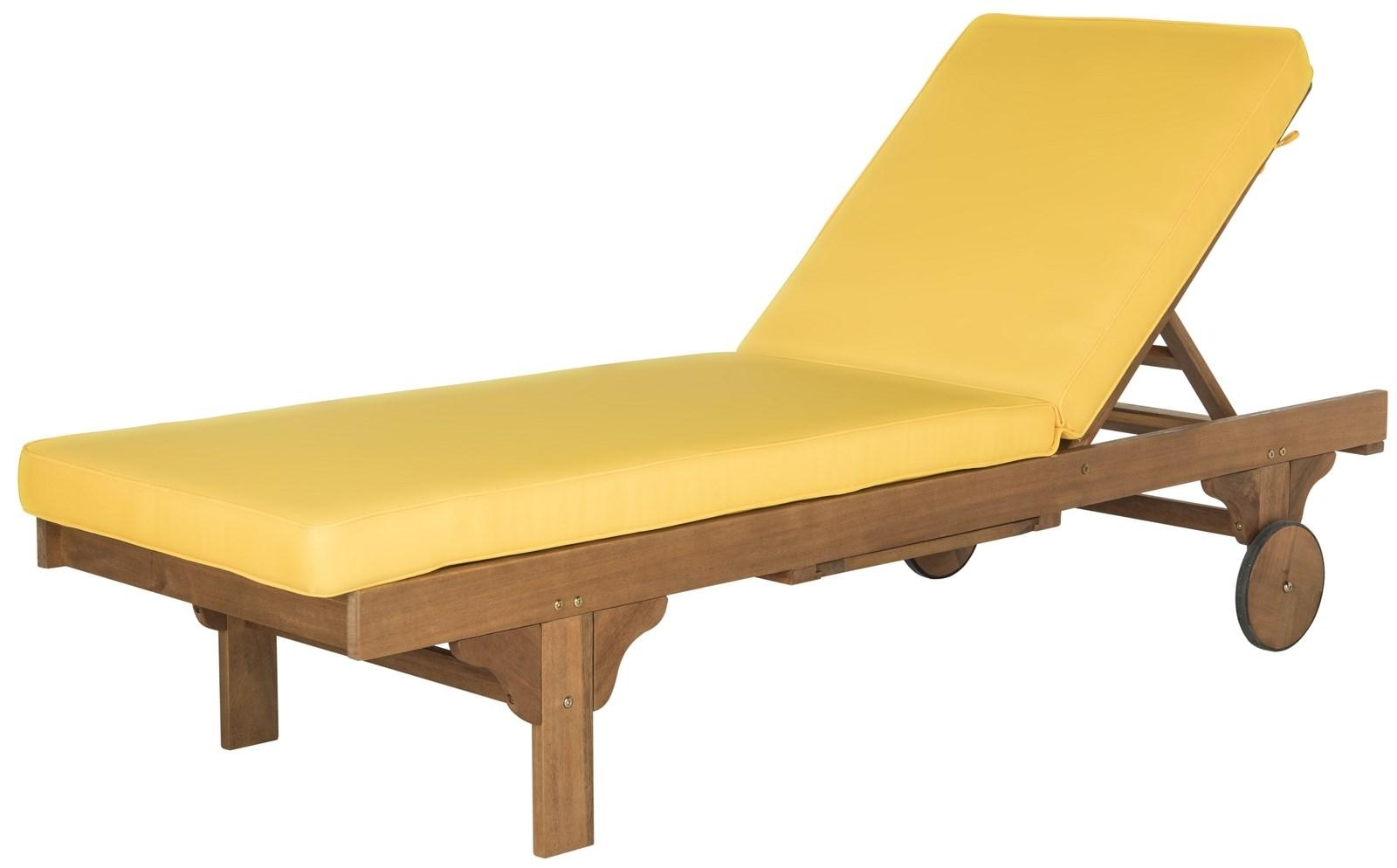 Newest Chaise Lounge Chair (View 10 of 15)