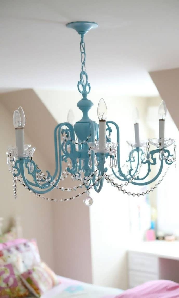 Newest Chandeliers For Kids Regarding Chandelier : Girls Room Light Fixture Cute Girl Rooms Bedroom (View 14 of 15)