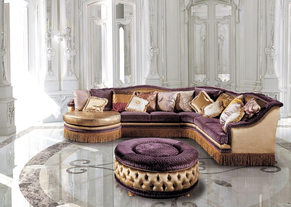 Newest Classic Sofas Regarding Luxury Classic Modular Sofa, For Living Rooms (View 12 of 15)