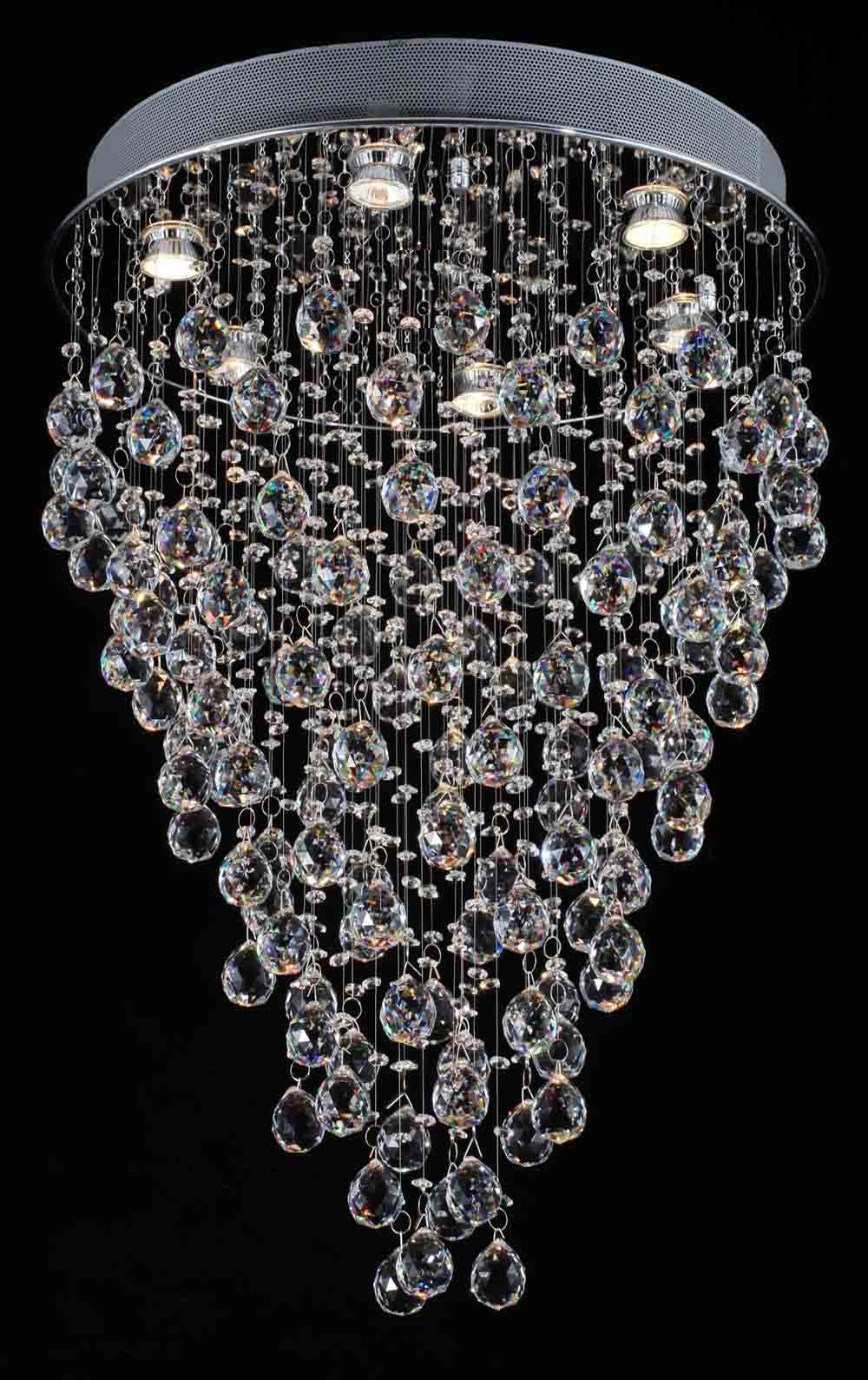 "Newest Contemporary Modern Chandeliers In G902 1115/6 Gallery Modern & Contemporary Modern Chandelier ""rain (View 13 of 15)"