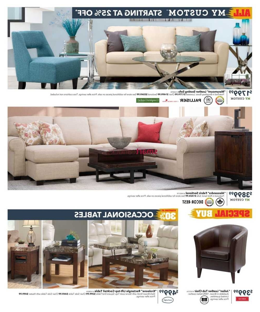 Newest Dufresne Flyer November 3 To 16 Intended For Dufresne Sectional Sofas (View 11 of 15)