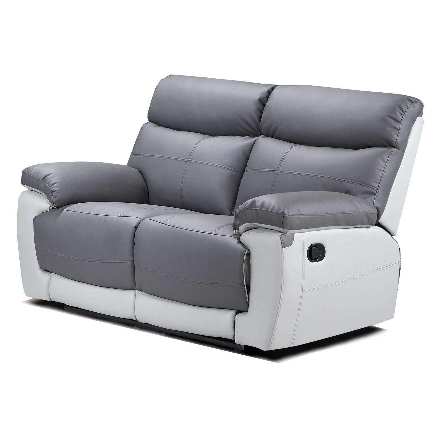 Newest Duo Lexi 2 Seater Leather Recliner Sofa – Next Day Delivery Duo With 2 Seater Recliner Leather Sofas (View 13 of 15)