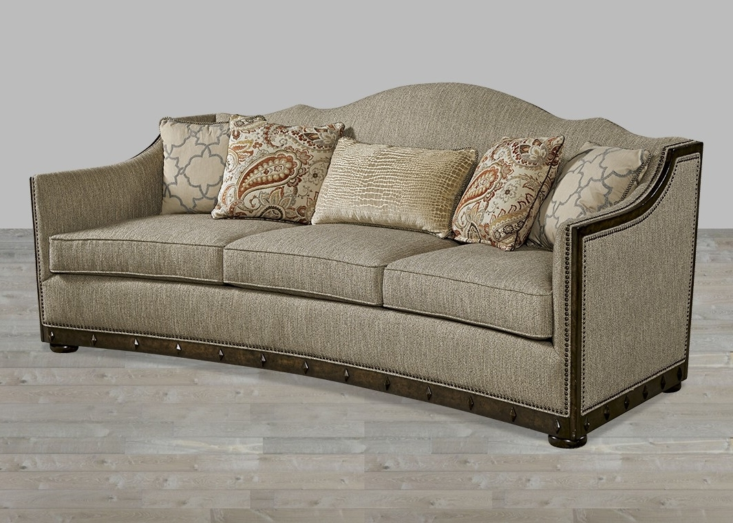 Newest European Inspired Traditional Fabric Sofa Canella Finish With In Traditional Fabric Sofas (View 8 of 15)