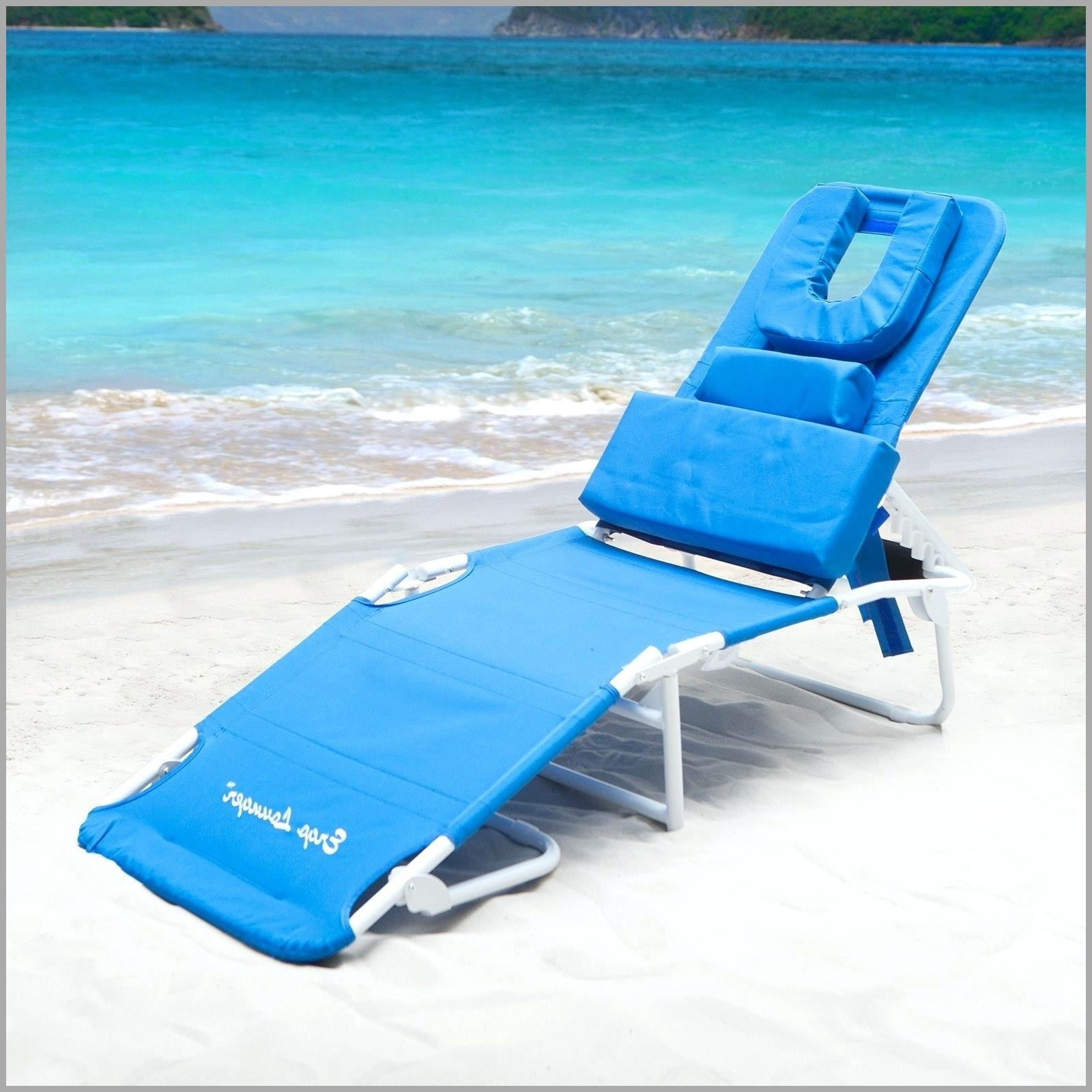 Newest Folding Beach Chaise Lounge (View 9 of 15)
