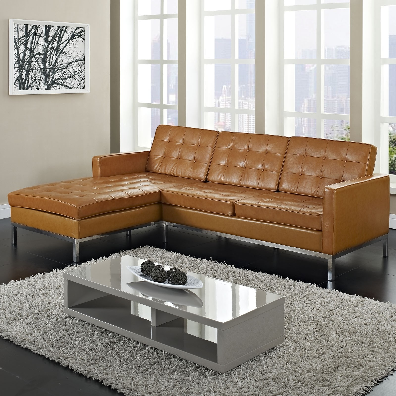 Newest Furniture, Maximizing Small Living Room Spaces With 3 Piece Brown For Light Tan Leather Sofas (View 7 of 15)