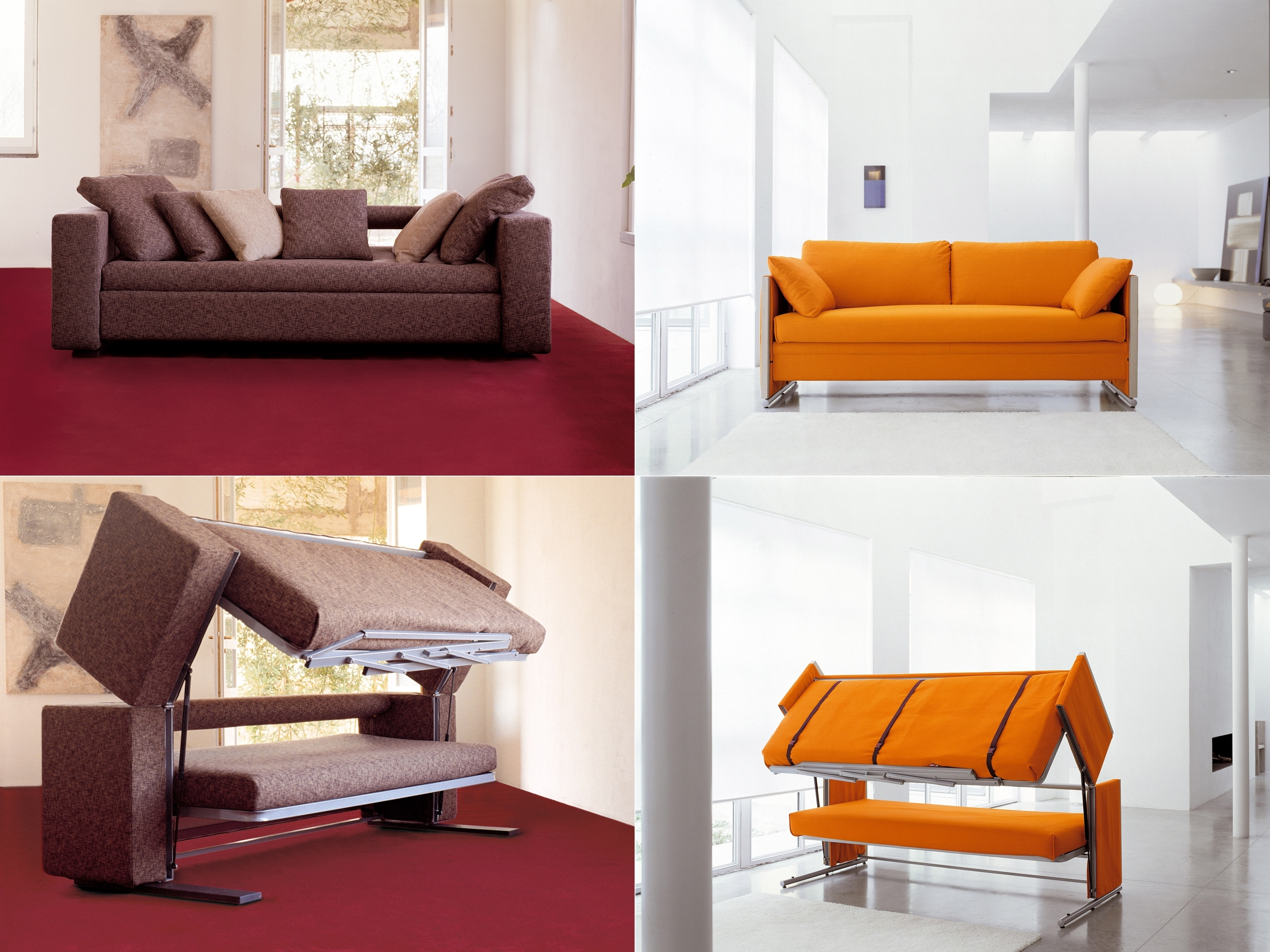 Newest Innovative Multifunctional Sofadesigner Giulio Manzoni Throughout Sofa Bunk Beds (View 14 of 15)
