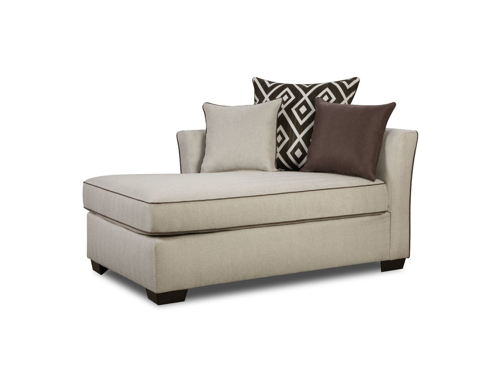 Newest Latitude Run Heath Chaise Loungesimmons Upholstery & Reviews With Linen Chaise Lounges (View 10 of 15)