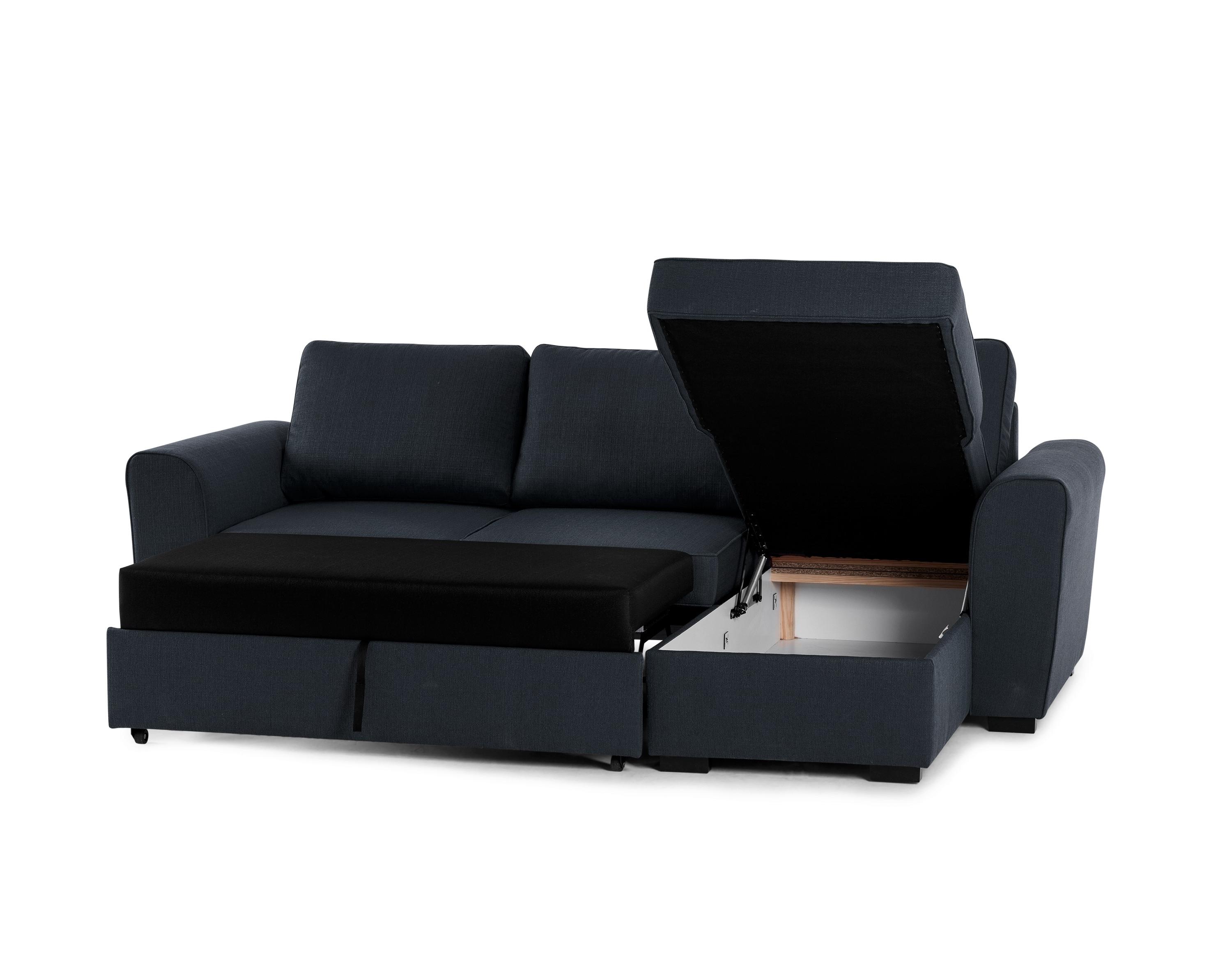 Newest Leather Armchair And Ottoman Chaise Sofa With Storage Ottoman For Leather Sofas With Storage (View 11 of 15)
