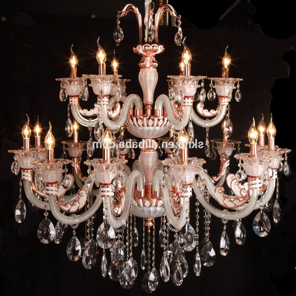 Newest Marvelous Chinese Crystal Chandelier Light Pic For Lighting Trend In Chinese Chandelier (View 13 of 15)