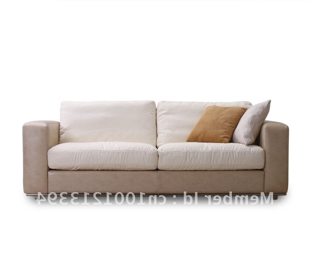 Newest Modern 3 Seater Sofas With Modern Furniture / Living Room Fabric/ Bond Leather Sofa/ 3 Seater (View 2 of 15)