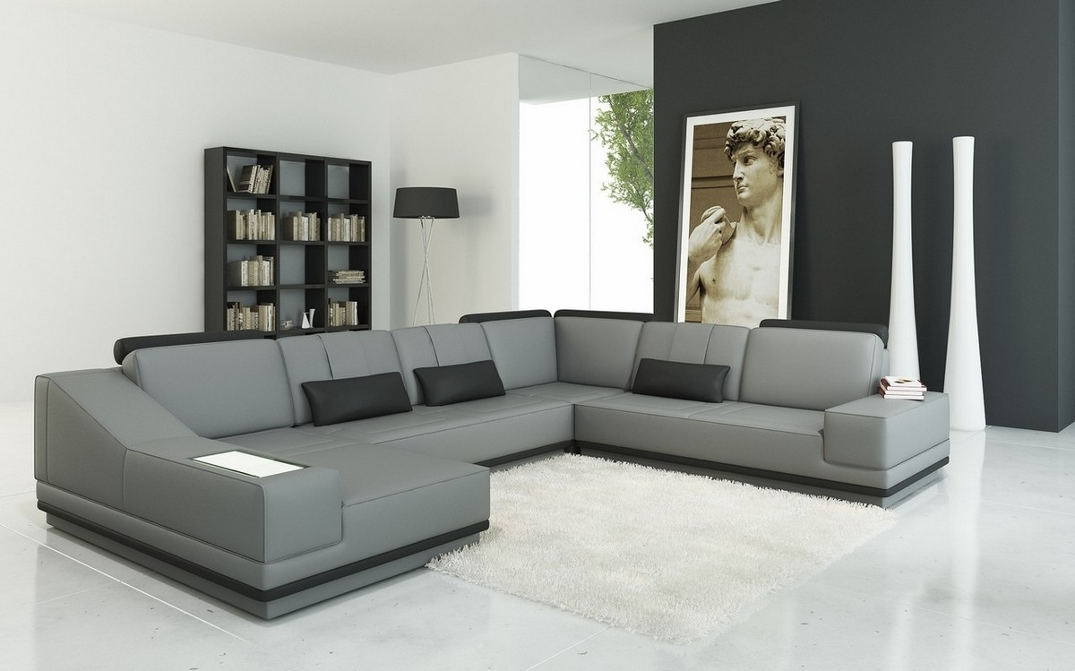 Newest Modern Sectional Sofas Sleeper : The Holland – Choose Your With Contemporary Sectional Sofas (View 10 of 15)