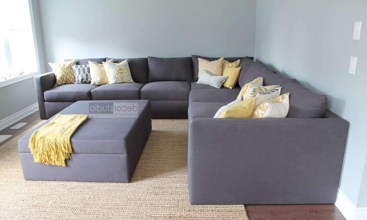 Newest Ontario Canada Sectional Sofas Inside Custom Sectionals – Decor Studio Custom Upholstery (Gallery 1 of 15)