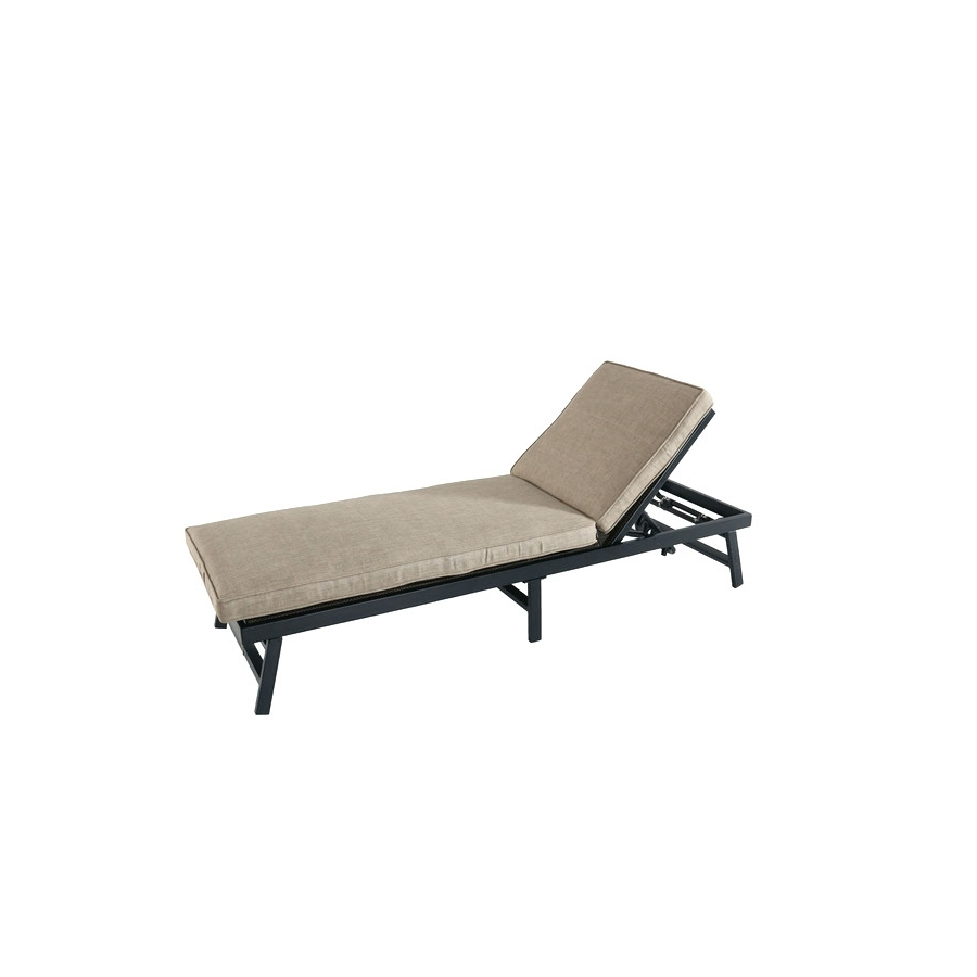 Newest Outdoor : Folding Indoor Chaise Lounge Lowes Chaise Lounge Throughout Walmart Chaise Lounge Cushions (View 9 of 15)