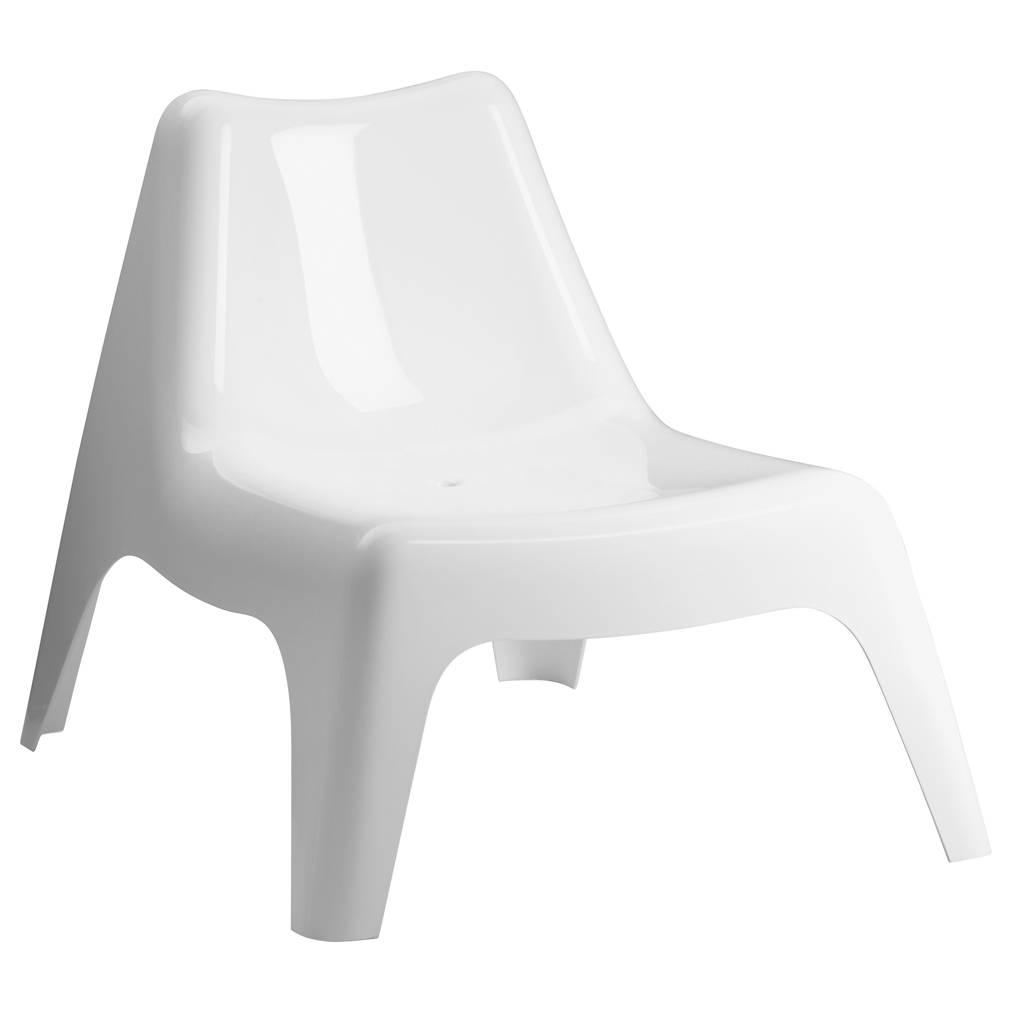 Newest Outdoor Ikea Chaise Lounge Chairs For Ikea Ps Vågö Chair, Outdoor – White – Ikea (View 6 of 15)