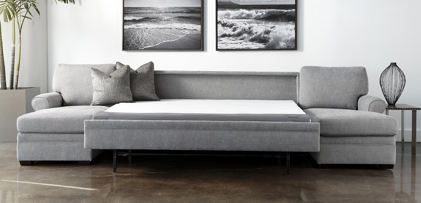 Newest Perfect Leather Sectional Sleeper Sofa 78 For Sofas And Couches With Regard To Sectional Sofas With Sleeper (View 8 of 15)